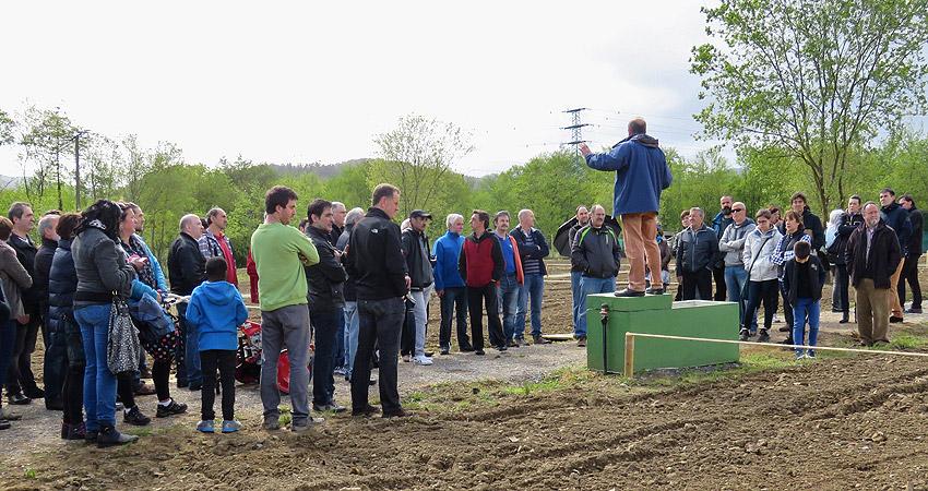 Inaugurados los huertos ecológicos de Gernika